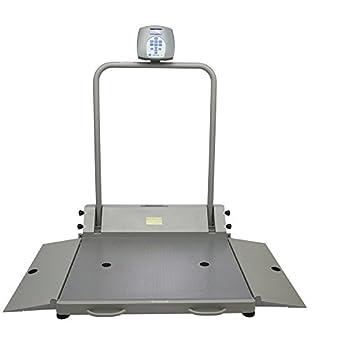 Salud o M 2610 KL plegable silla de ruedas rampa de doble escala Digital con rampas
