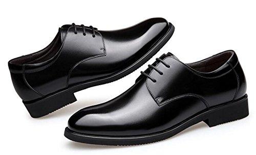 Oxford Da Primavera Estate Uomo Low Nera Di Casual Moda Formale Lavoro Top Black WKNBEU Scarpe Oxford Derby q5Zw8n5