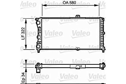 Valeo 730980 Radiator, engine cooling