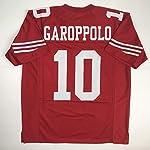 on sale 8d6ab 94d01 Jimmy Garoppolo San Francisco 49ers Autographed Black Nike ...