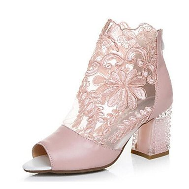 Women's amp;xuezi 4in us6 Summer pink 3 Gll cn36 Blushing 2 Pink Comfort Casual 2in PU Sandals blushing eu36 uk4 5SFZdZq