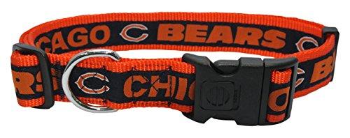 Top bears football dog collar for 2019