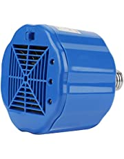 Safe Chicken Coop Heater, Poultry Heat Lamp Fan Blows Heating Coil, 100W 200W 300W Adjustable 3 Levels,Cover 1 Square Meter, Refractory Plastic Safe for Livestock Turtle Snake Aquarium