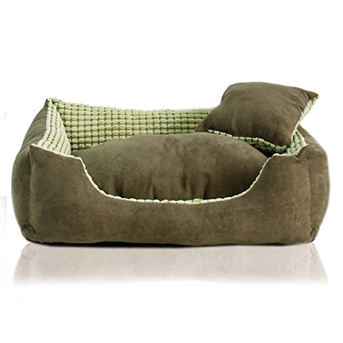 CHONGWUCX All removable and washable large and small dogs suede Teddy kennel, l