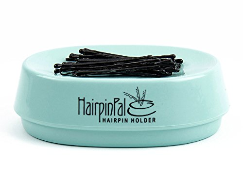 Bobby Pin and Hair Clip Magnetic Holder: HairpinPal (Sea Foam Teal)