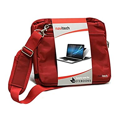 Premium Red Wine Navitech's Water Shock Safe Permanent Laptop/Netbook/Notebook/Ultrabook/Thinkpad Carry Bag/Case Especially Designed for Lenovo IdeaPad S206 New. 33% Off! - other