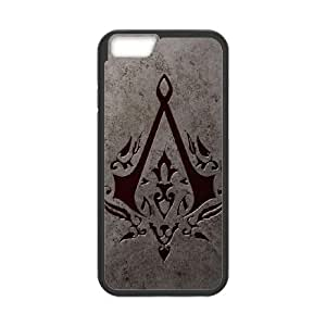 iPhone 6 Plus 5.5 Inch Cell Phone Case Black Assassin's Creed FXS_572928