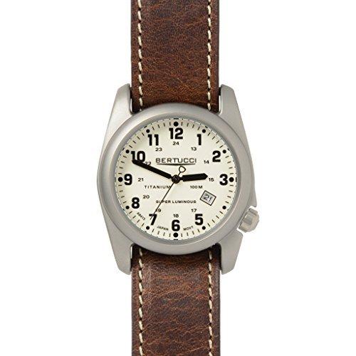 Bertucci A-2T Original Classics Watch - Beige/Nut Brown L...