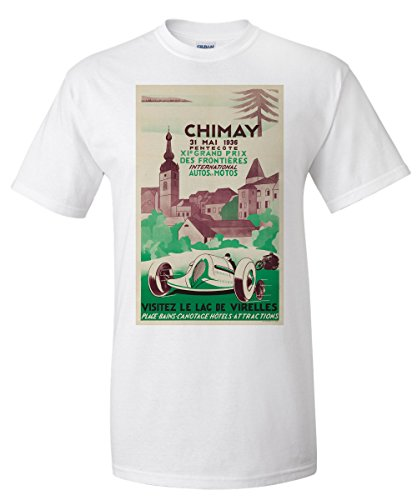 belgium-chimay-grand-prix-artist-alfred-fosset-c-1936-vintage-advertisement-white-t-shirt-xx-large