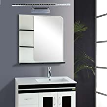 Adjustable 180 Degrees Angle Bathroom Mirror-front Light Wall Lamp 7 W AC 85-260V Warm White Stainless Steel Convenient