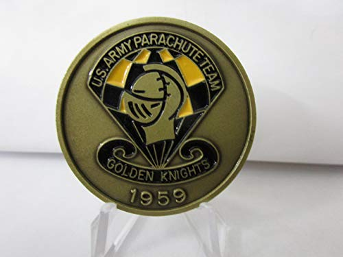 United States Army Parachute Team Golden Knights Challenge Coin #281A ()