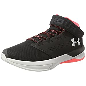 Under Armour Men's Get B Zee,Black (002)/Stealth Gray, 10