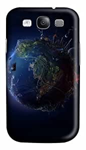 The Earth Custom Polycarbonate Hard Case Cover for Samsung Galaxy S3 SIII I9300