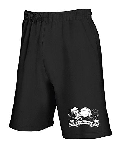 Pantaloncini United Casual Tum0109 Nero T Tuta shirtshock gx5q0w018