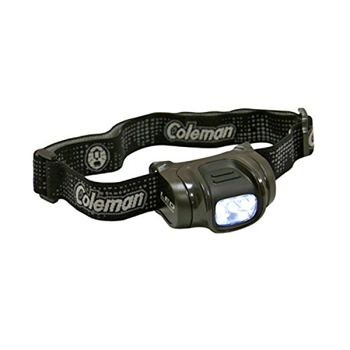 Coleman 3AAA LED Headlamp Green/Black 2000023875 (Coleman Multicolor Flashlight compare prices)