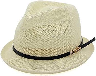ZXioHat-ca Gorra de Playa Sombrero de Paja para señoras de ...