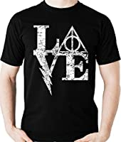 Camiseta Love Harry Potter - Reliquias Camisa Blusa
