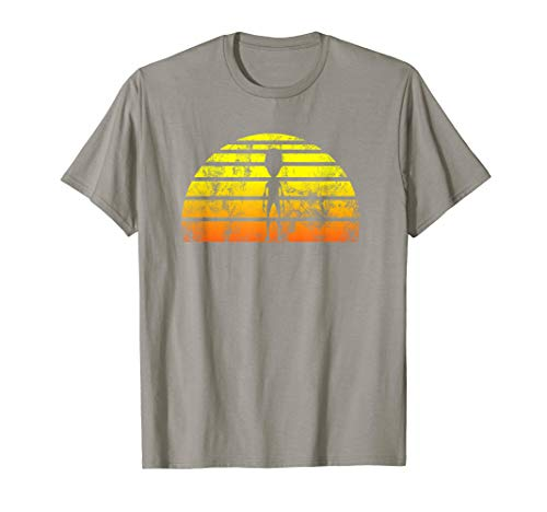 Alien Funny Retro Vintage Sunset 70s 80s look T -