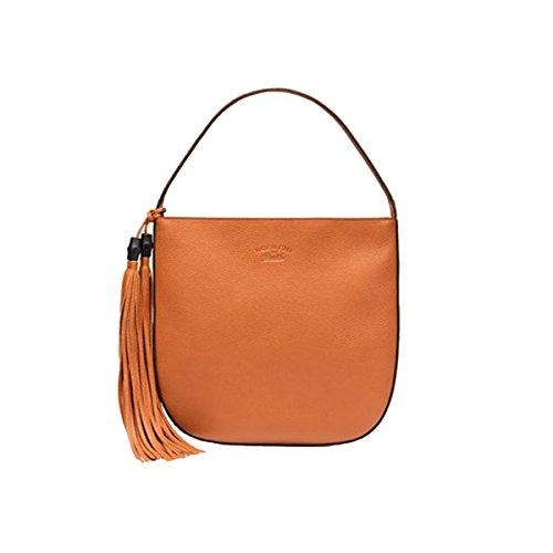 Gucci Lady Tassel Leather Hobo Shoulder Bag 354475, (Gucci Hobo Purse)