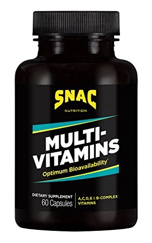 SNAC Multi-Vitamins Daily Supplement with Optimum Bio-Availability, 60 Capsules Review
