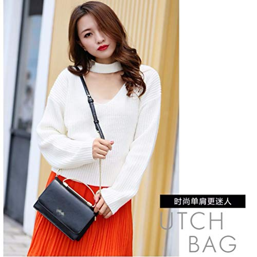 wallet shoulder shoulder Bag Satchel multi long bag Black BB bag handbag bag bag LIUXINDA Ladies' shopping W1qXIO4Ez