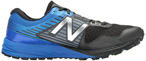 Nuovo Equilibrio Mens 910v4 Gore-tex Scarpa Da Corsa Nero / Vivido Cobalto
