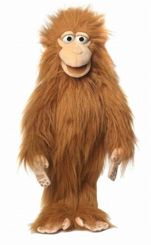 ''Silly Monkey With Arm Rod'', 28In Puppet, -Affordable Gift for your Little One! Item #DSPU-SP2004 by Silly Puppets