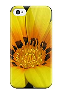 Iphone 4/4s Widescreen Yellow 1080p Print High Quality Tpu Gel Frame Case Cover