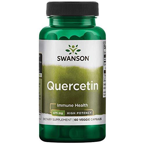 Swanson High Potency Quercetin 475 Milligrams 60 Veg Capsules 475 Mg 60 Capsules