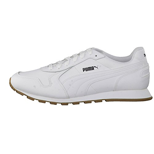 Puma St Runner Full L, Zapatillas Unisex Adulto Blanco (White-white)