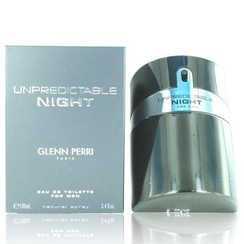 Glenn Perri Unpredictable Night Eau De Toilette Spray for Men, 3.4 Ounce