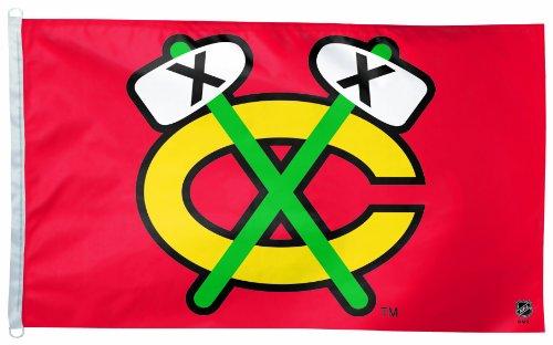 NHL Chicago Blackhawks 3-by-5 Foot Flag ()