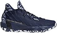 Adidas Dame 7 Navy/Silvermet Basketball Shoes