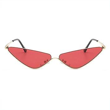 CWYPB Gafas de Sol de triángulo de la señora, Gafas de Sol ...