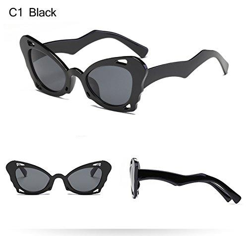 Cat Negro Blakc Eye Frauen Luxus Frauen Pc Sonnenbrille Designer Marke Retro Blanco KXLEB Rahmen Sonnenbrille Brillen xOCZcXqUBB