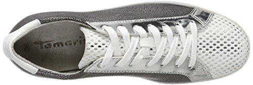 Str Femme Sneakers Blanc Comb Tamaris 23635 192 Basses white FPgxpqY
