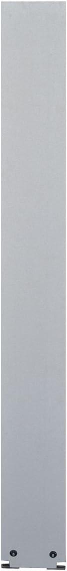 Neutral Glace Phenolic Global Steel 40-98870705-1130 Pilaster wtih Trim Shoe 7 W X 82 H