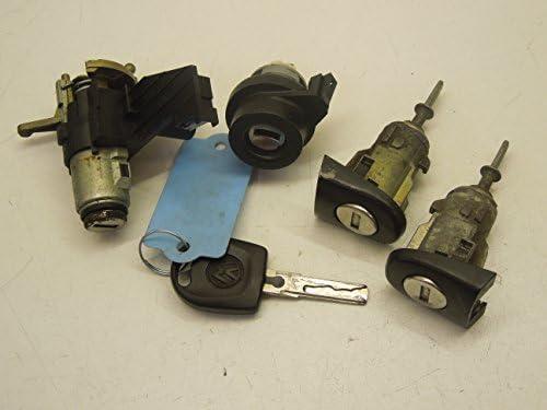 VW Polo 9N - Juego de cerradura y llaves de botón de encendido ...