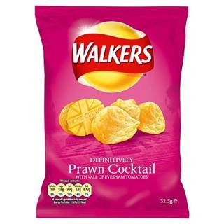 (Walker's Walkers Prawn Cocktail Flavour Crisps 32.5G X Case Of 48)