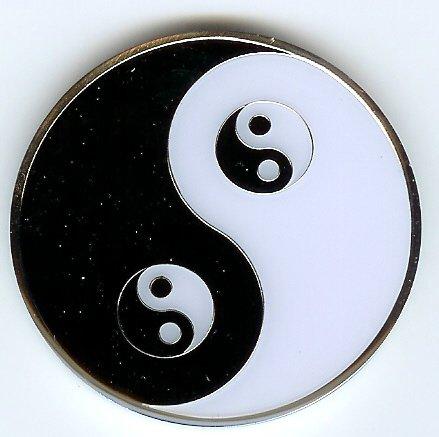 Yin Yang Poker Weight