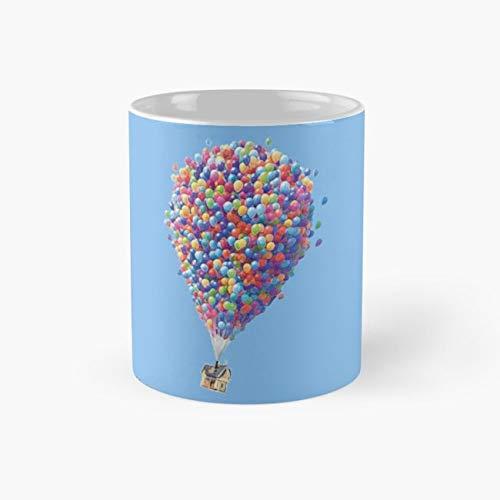 UP Mug, pixar Cup, 11 Ounce Ceramic Mug, Perfect Novelty Gift Mug, Funny Gift Mugs, Funny Coffee Mug 11oz, Tea Cups 11oz ()
