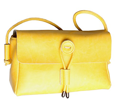 SAIERLONG Bags Leather Ladies Yellow Cross Designer Bags Body Womens Genuine Shoulder ZBPaqSxwZ
