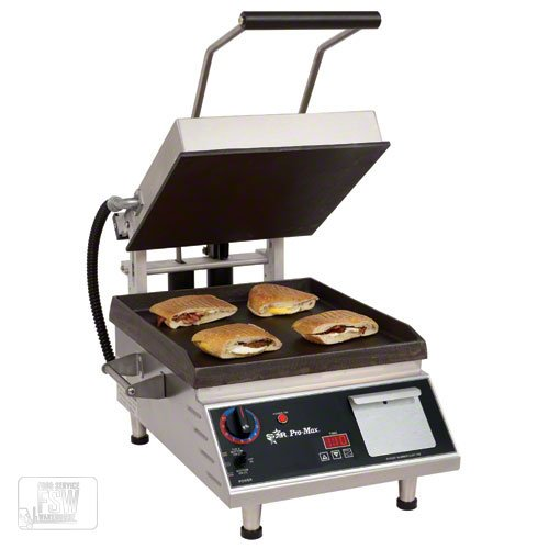 "Table Top King star (GR10E) - 16"" Smooth Pro-Max Sandwich Grill"