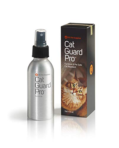 Cat Guard Pro Pet Safe Furniture Cat Repellent - 4oz Spray Bottle - Eucalyptus Scent