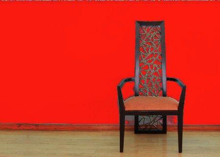 Amelia Plain Red Wallpaper 45979