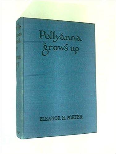 Ebook download pollyanna free grows up