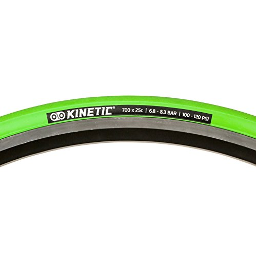 Kinetic by Kurt T-739 Trainer Tire, 700 x 25, Green