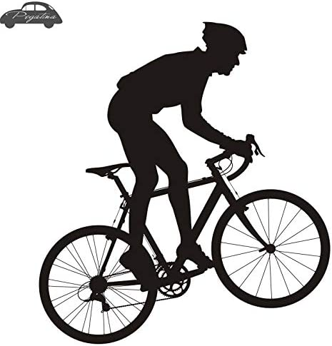 80x80cm bicicleta pegatina bicicleta ciclismo calcomanías de ...