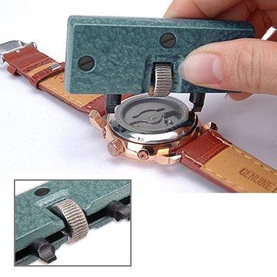 NICE' living hall Hermoso Abrelatas Rectangular Ajustable de la Caja del Reloj del Ancla para Reparar los Relojes Unico