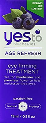 Yes to Blueberries Eye Firming Treatment, Age Refresh 0.50 oz